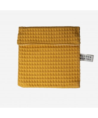 POCHETTE TRANSPORT OCRE