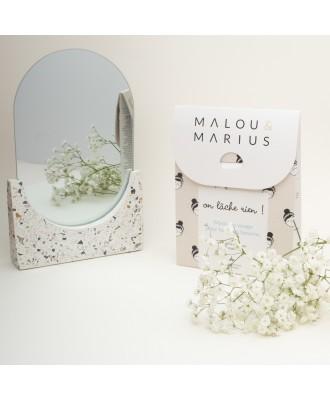 Coffret de 3 masques visage et 1 paire de patch yeux. Malou & Marius