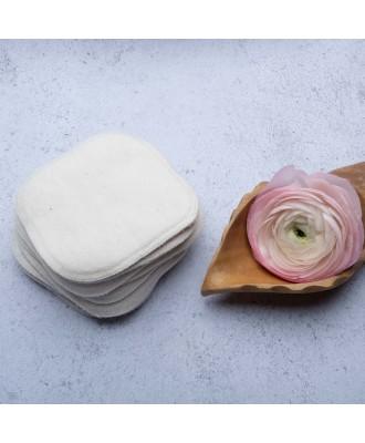 lingettes en coton biologique double faces